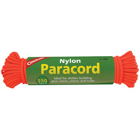Coghlans Paracord Câble 15,25m, neon orange